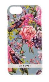 <b>Чехол So Seven</b> Summer Chic iPhone 7/8 Oiseaux Многоцветный ...