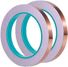 1/ 4 Inch Copper Foil <b>Tape</b> with Dual <b>Conductive</b> Adhesive 21.8 ...