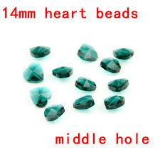<b>WholeSale</b>, <b>Free Shipping</b> , 100pcs,Zircon Blue 14mm Crystal Heart ...