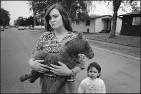 why the very poor have become poorer by christopher jencks the tiny holding horsey keanna seattle 1993 photograph by mary ellen