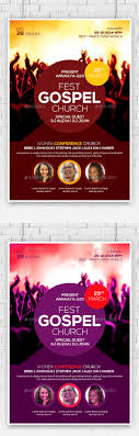 gospel fest church flyer template by anaya22 graphicriver gospel fest church flyer template church flyers