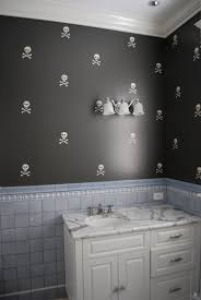 large size design black goldfish bath accessories:  images about skull house on pinterest broken mirror gothic and colorful skulls