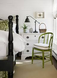 white walls with black and green accents avenue greene grey ladder storage office wall