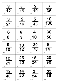 Simplifying fractions bingo by carly11 - Teaching Resources - TES