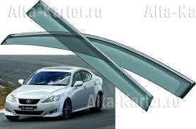 <b>Дефлекторы Noble</b> для <b>окон</b> Lexus IS 250 2005-2013. Артикул ...