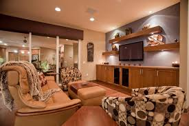entertainment center designs in family room contemporary with brown valance accent lighting accent lighting family room