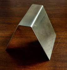 <b>STAINLESS</b> STEEL <b>BUSINESS CARD HOLDER</b> - - GLASS MOLD