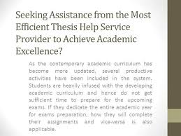 Thesis Help Online Service   Best Thesis Writing Help UK  authorSTREAM