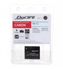 <b>Аккумулятор</b> для фотоаппарата <b>DigiCare PLC</b>-<b>11L</b> / NB-11L ...