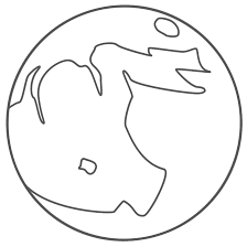 Small Picture Phases Moon Coloring Pages Coloring Home