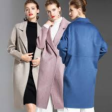 Winter High End Cashmere Skirt Suit Korean <b>2019 Fashion Double</b> ...