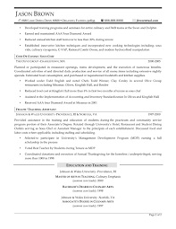 food services resume examples resume professional writers food and beverage professional