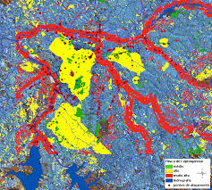 Resultado de imagem para Mapa de Suscetibilidade