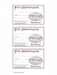 food voucher template gift certificate format business coupon best photos of gift certificate templates for word gift gift voucher