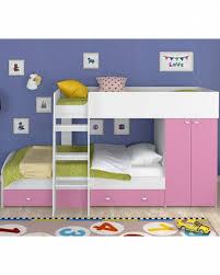 Купить <b>двухъярусная кровать Golden</b> Kids 2 белая/розовая, цены ...