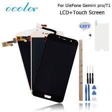 ocolor <b>Ulefone Gemini</b> Pro T1 LCD Display and Touch Screen ...
