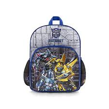 <b>Transformers Kids</b> Backpack - 15 inch <b>Boys School Bag</b> [Autobot ...