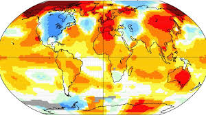 hottest year on reconrd - 2015