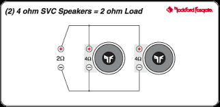 ohm speaker wiring image wiring diagram dual voice coil speaker diagram dual image about wiring on 2 ohm speaker wiring