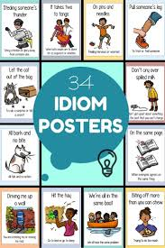 best images about teaching idioms idiomatic expressions on idiom posters