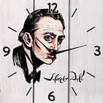 Купить <b>Настенные часы Дом Корлеоне</b> Сальвадор Дали 30x30 ...