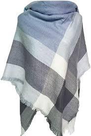 <b>Winter Warm Scarfs</b> Women Plaid Blanket <b>Scarves</b> for Women ...
