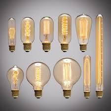E27 40W <b>Vintage Retro Filament Edison</b> Tungsten Light <b>Bulb</b> ...