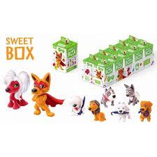 <b>Мармелад с игрушкой</b> SweetBox Щенята 10 г – выгодная цена ...