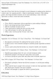 professional pizza chef templates to showcase your talent    resume templates  pizza chef