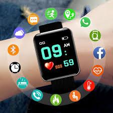 the Mens' Watches Smart Sport Watch <b>Men Watches Digital LED</b> ...
