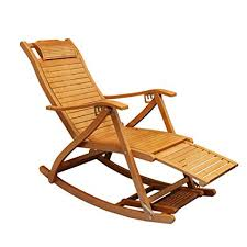 Chairs Folding <b>Deck Chair Bamboo</b> Chair Leisure Chair <b>Outdoor</b> ...