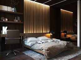 aesthetic bedroom wall lights  indirect lighting on textured wall