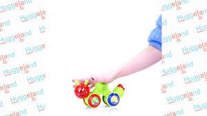 Музыкальная развивающая <b>игрушка</b> Huggeland «Веселая гусеница