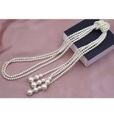 Simple And Fresh <b>Popular Fashion Korean Pearl</b> Necklace Multi ...