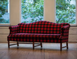 items similar to vintage camelback sofa in wool buffalo plaid retro black red couch lumberjack cabin furniture rustic woodsy home decor on etsy brilliant 14 red furniture