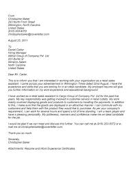 Cover letter for cv sales assistant     YZ Solutions in Retail Sales     My Document Blog