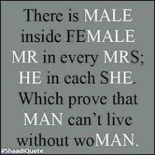 Image result for man and women quotes