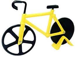 <b>Bicycle pizza cutter</b>, stainless steel double pizza cutter: Amazon.co ...