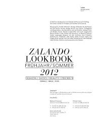 Zalando Lookbook Sommer 2012