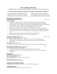 actuarial resume actuary resume actuary resume exampl resume actuarial resume