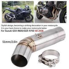 (Advertisement eBay) <b>Motorcycle Exhaust Link</b> Pipe Mid <b>Muffler</b> for ...