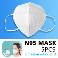 5pcs Three-Layer SSS <b>Non-Woven</b> Daily <b>N95 Safety</b> Protective ...