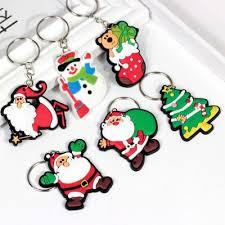 Ready Stock 20pcs/15pcs/<b>5pcs Cute Cartoon</b> Keychain Christmas ...