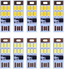 Amazon.com: HUAHA <b>10pcs</b> USB Mini <b>LED</b> Lights 6 Keychain ...