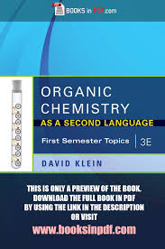 organic chemistry as a second language pdf e organic chemistry as a second language pdf 3e authorstream