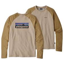 <b>Patagonia P 6 Logo</b> Lightweight Crew Коричневый, Trekkinn ...