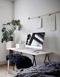 scandinavian style home office inspiration creative studio workspace artist desk minimalism artistic home office track