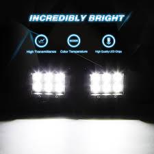 Nilight <b>2PCS</b> 18W 1260lm Spot Driving <b>Fog Light</b> Off Road Led ...