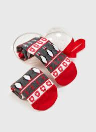 <b>Носки с жаккардом</b> «пингвины в шаре» (LN6VB9-14) купить за ...