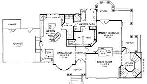 Expandable Victorian House Plan   LK   st Floor Master Suite    Floor Plan